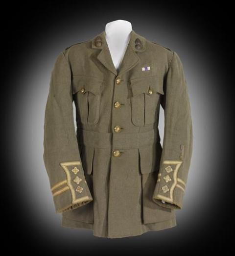 Sassoon's service dress jacket.